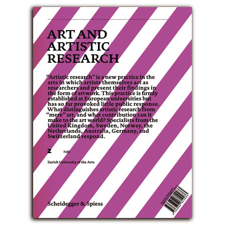 Art and Artistic Research